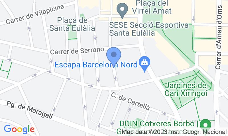 Localizzazione del parcheggio sulla mappa - Prenota un posto nel parcheggio Esponellà