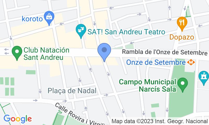 Lugar de estacionamento no mapa - Reserve uma vaga de  estacionamento no Sant Andreu