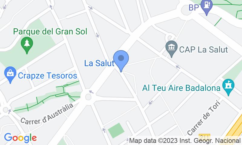 Localizzazione del parcheggio sulla mappa - Prenota un posto nel parcheggio Quevedo