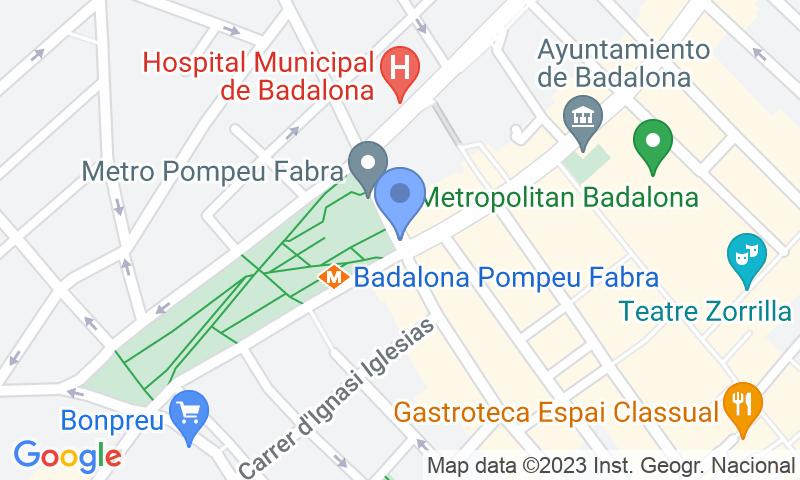 Lugar de estacionamento no mapa - Reserve uma vaga de  estacionamento no Pompeu Fabra