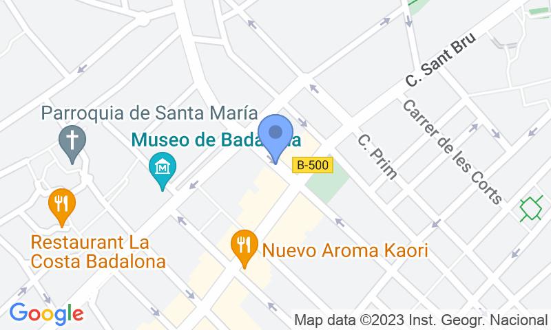 Localizzazione del parcheggio sulla mappa - Prenota un posto nel parcheggio El Viver