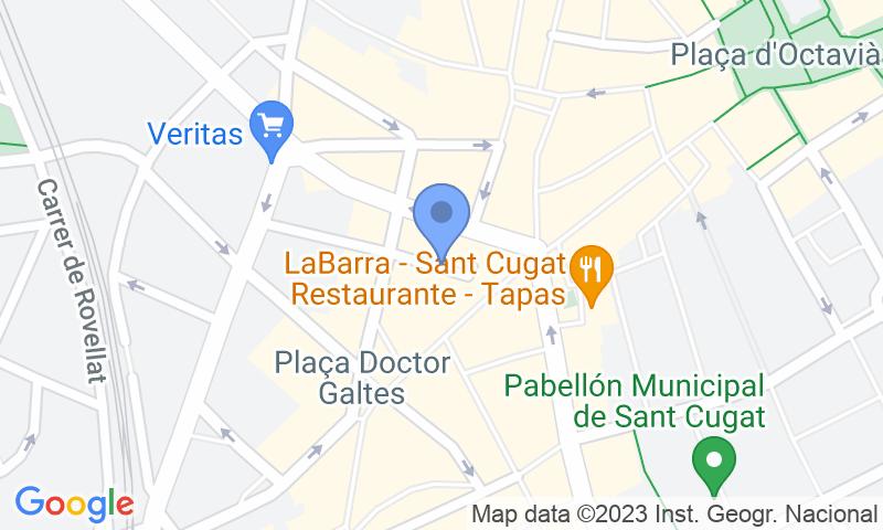Localizzazione del parcheggio sulla mappa - Prenota un posto nel parcheggio Colom