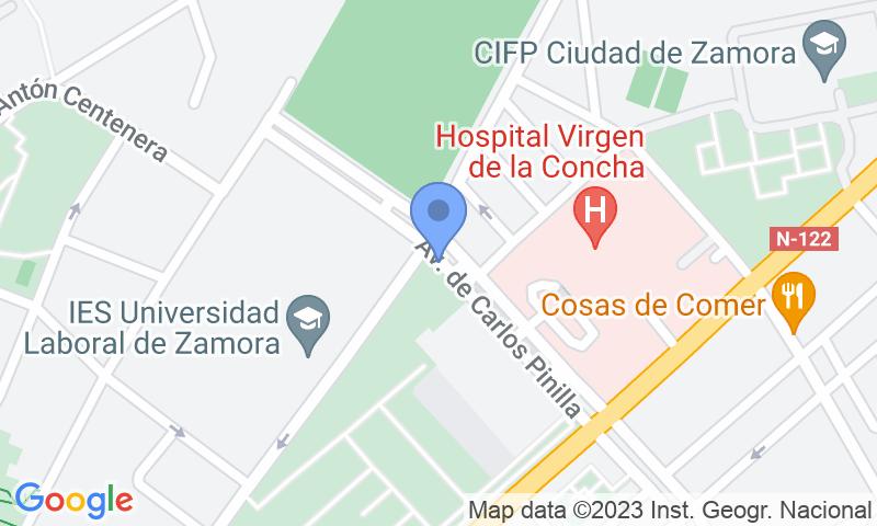 Расположение парковки на карте - Забронируйте паркоместо на стоянке Reyes Católicos