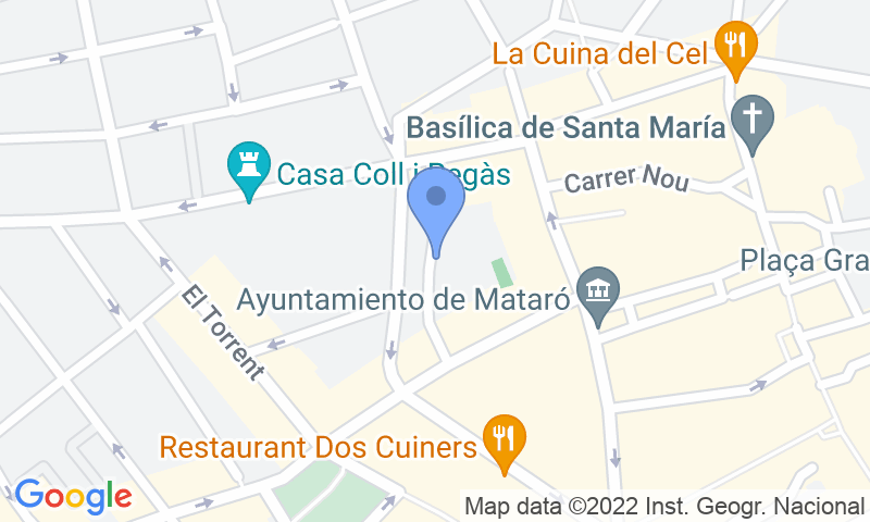 Localizzazione del parcheggio sulla mappa - Prenota un posto nel parcheggio SABA La Riera