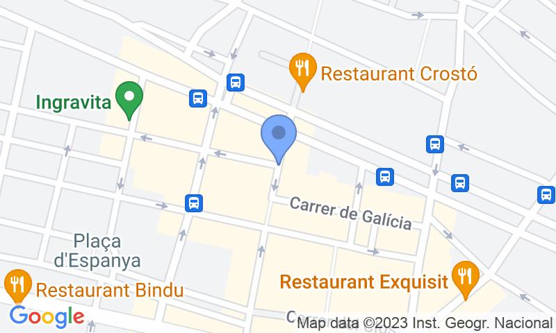 Lugar de estacionamento no mapa - Reserve uma vaga de  estacionamento no SABA Cal Font