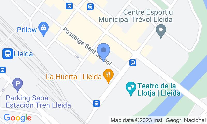 Localizzazione del parcheggio sulla mappa - Prenota un posto nel parcheggio Demave