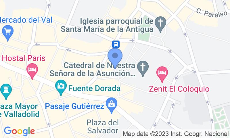 Localizzazione del parcheggio sulla mappa - Prenota un posto nel parcheggio IC - Plaza de Portugalete