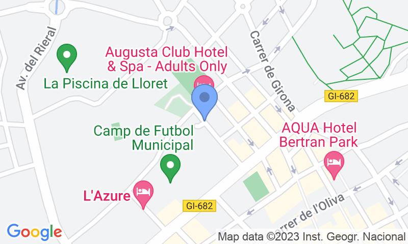Lugar de estacionamento no mapa - Reserve uma vaga de  estacionamento no Zona Esportiva - Lloret de Mar