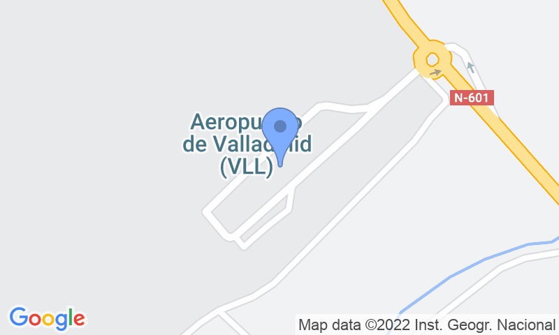Lugar de estacionamento no mapa - Reserve uma vaga de  estacionamento no AENA General Valladolid