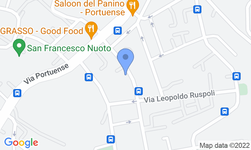 Parking location in the map - Book a parking spot in Portuense (parking 2005) car park