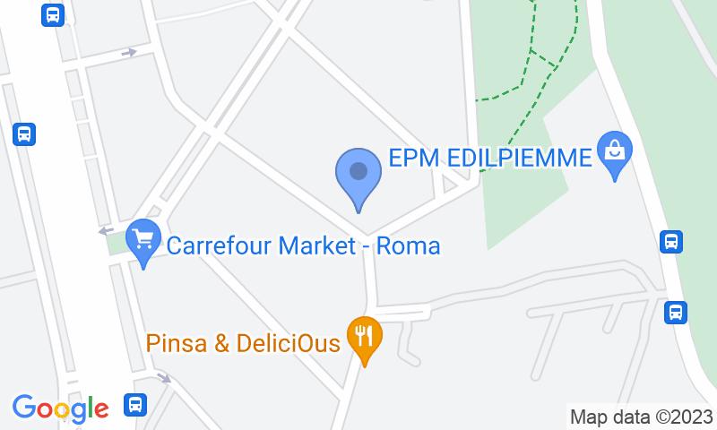 Parking location in the map - Book a parking spot in Navigatori car park