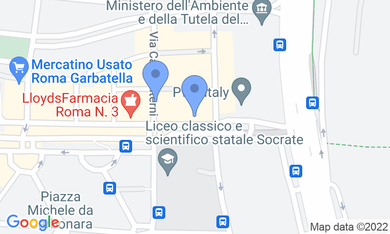 Parking location in the map - Book a parking spot in Autorimessa - Ostiense car park