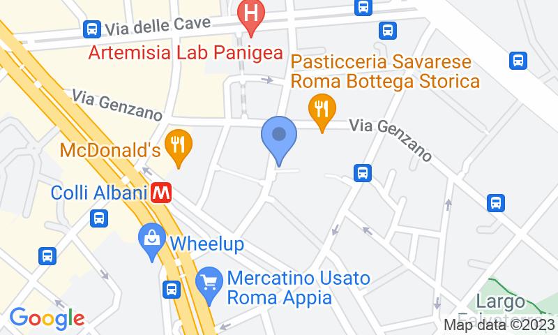 Localización del parking en el mapa - Reservar una plaza en el parking Propark