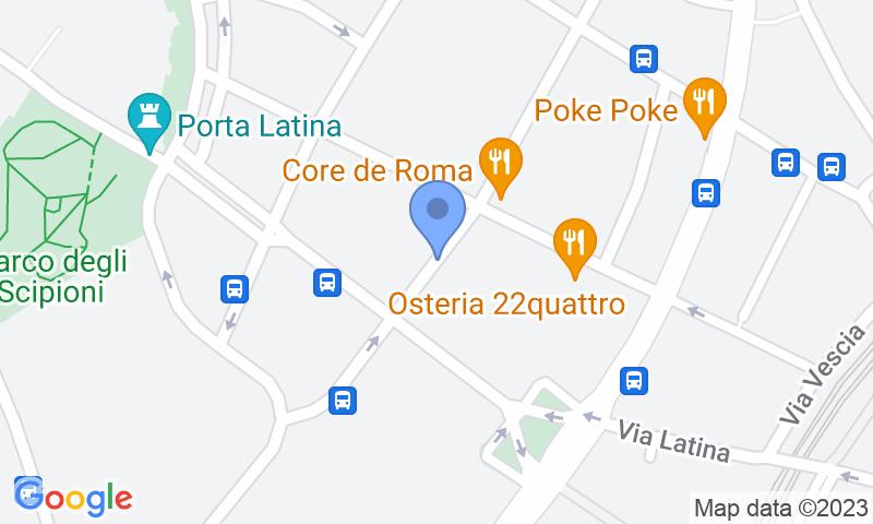 Localizzazione del parcheggio sulla mappa - Prenota un posto nel parcheggio g.a.r.2002