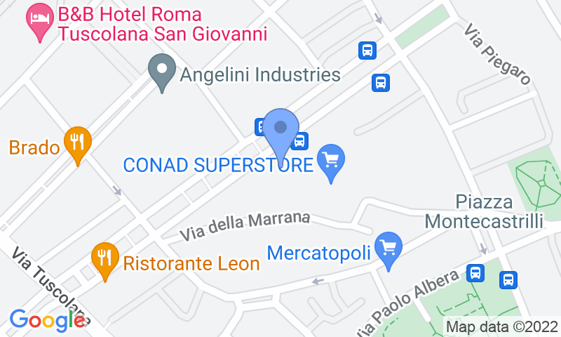 Localización del parking en el mapa - Reservar una plaza en el parking Mondial Parking