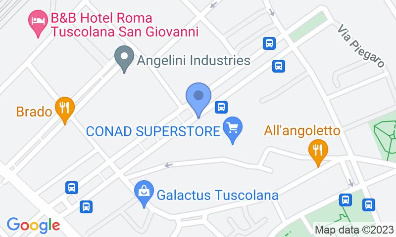 Localizzazione del parcheggio sulla mappa - Prenota un posto nel parcheggio Mondial Parking
