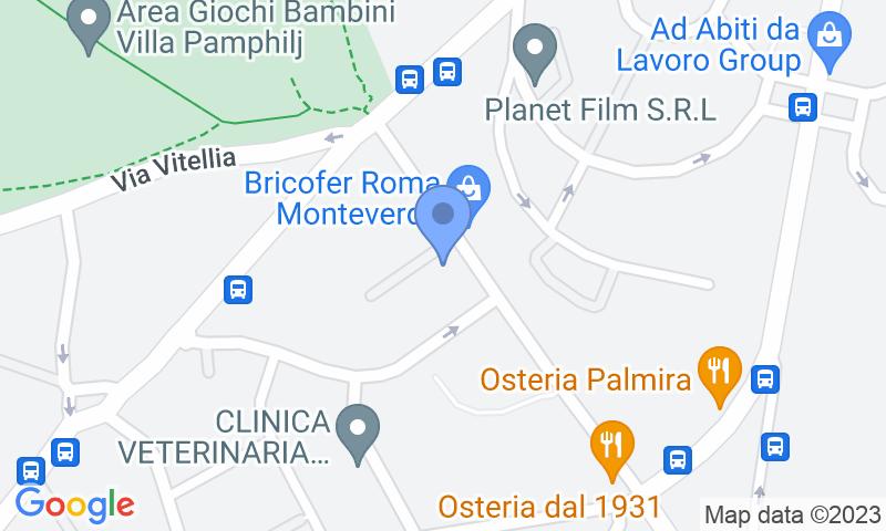 Localización del parking en el mapa - Reservar una plaza en el parking Olimpia