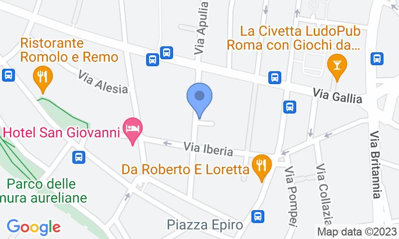 Localizzazione del parcheggio sulla mappa - Prenota un posto nel parcheggio Supergarage Italia