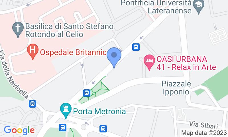 Localización del parking en el mapa - Reservar una plaza en el parking Supergarage Metronio