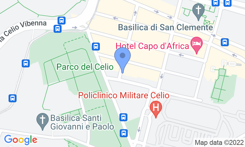 Localización del parking en el mapa - Reservar una plaza en el parking Park Colosseo