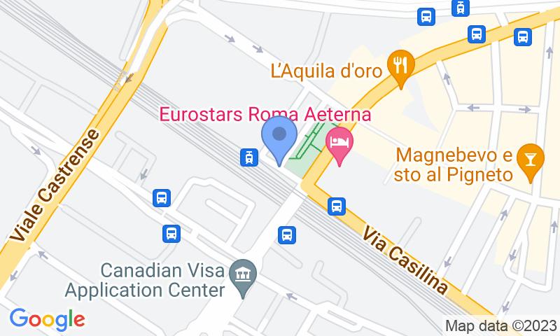 Standort des Parkplatzes auf der Karte - Buch einen Parkplatz im Parcheggio Pigneto Parkplatz.