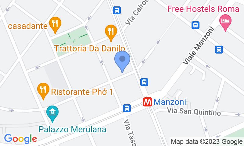 Localizzazione del parcheggio sulla mappa - Prenota un posto nel parcheggio Gar Capacci