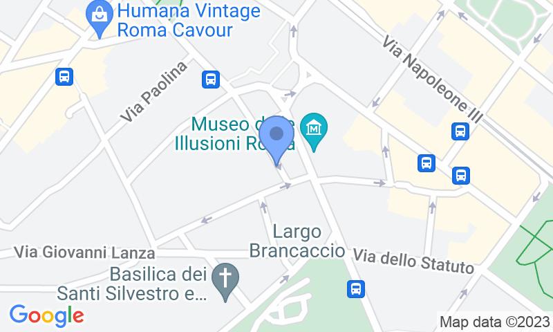 Localizzazione del parcheggio sulla mappa - Prenota un posto nel parcheggio Autorimessa S Prassede