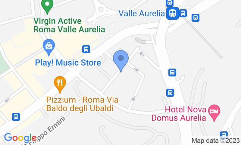 Localizzazione del parcheggio sulla mappa - Prenota un posto nel parcheggio Aurelia