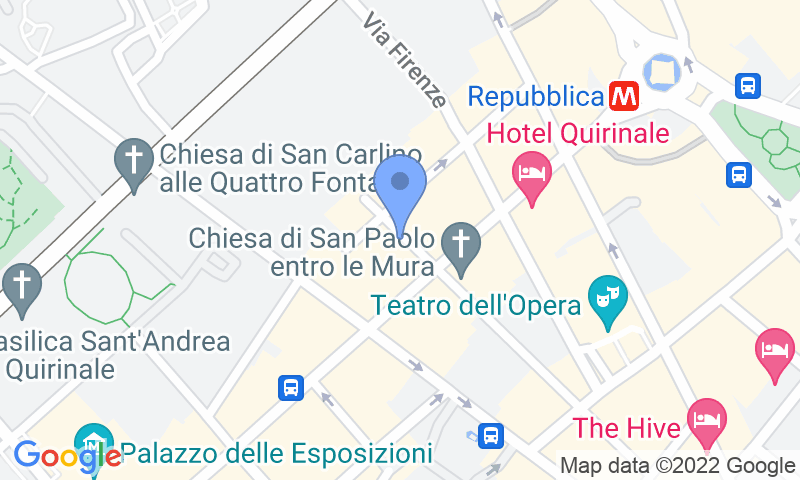 Parking location in the map - Book a parking spot in Garage Nazionale 2019 car park