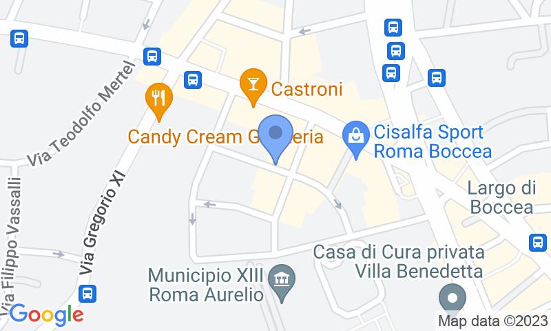 Localizzazione del parcheggio sulla mappa - Prenota un posto nel parcheggio Eurorepar Centro