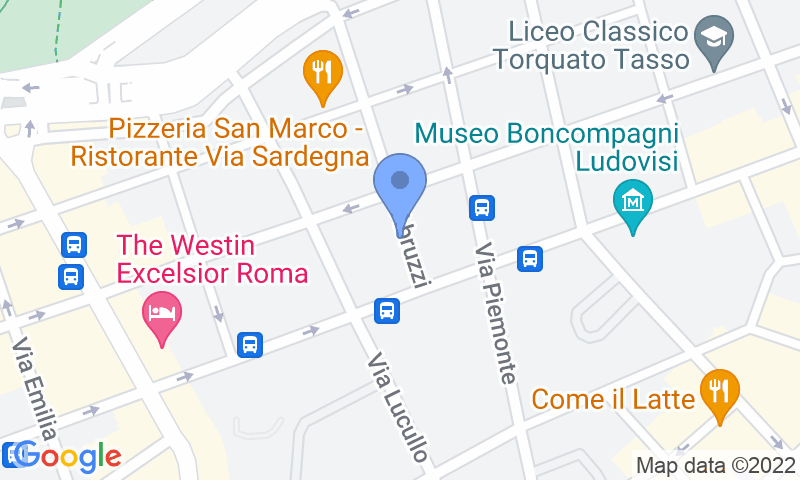 Localización del parking en el mapa - Reservar una plaza en el parking MuoviAmo Abruzzi