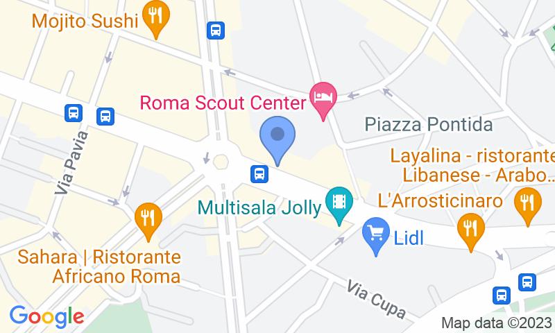 Localizzazione del parcheggio sulla mappa - Prenota un posto nel parcheggio Delle Provincie