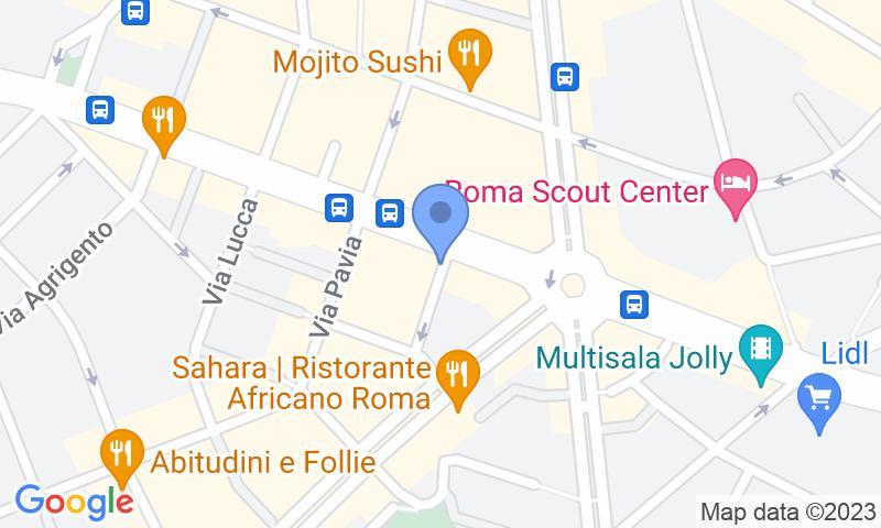 Localizzazione del parcheggio sulla mappa - Prenota un posto nel parcheggio Parkitalia