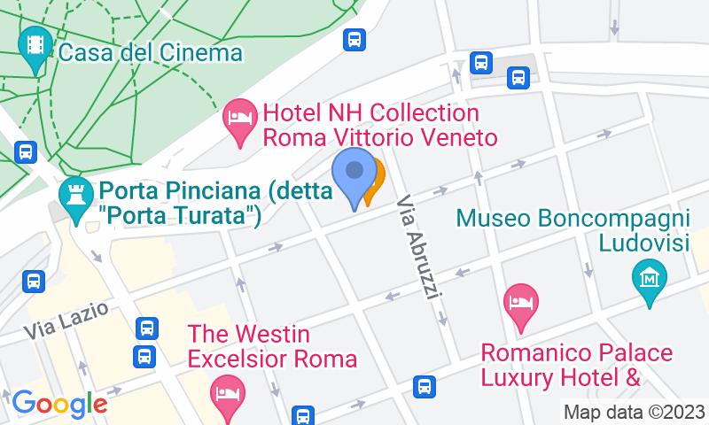 Localizzazione del parcheggio sulla mappa - Prenota un posto nel parcheggio MuoviAmo Sardegna (Avis)