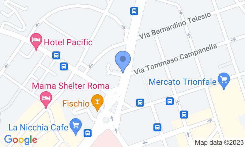 Standort des Parkplatzes auf der Karte - Buch einen Parkplatz im Autorimessa Pulso e Cirulli Parkplatz.