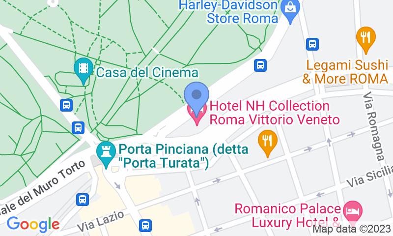 Localización del parking en el mapa - Reservar una plaza en el parking Jolly Garage