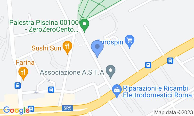 Localizzazione del parcheggio sulla mappa - Prenota un posto nel parcheggio Park OK