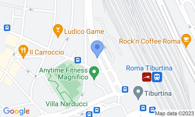 Standort des Parkplatzes auf der Karte - Buch einen Parkplatz im Stazione Roma - Circonvallazione Nomentana Parkplatz.
