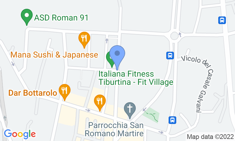 Parking location in the map - Book a parking spot in Tiburtina Parking car park