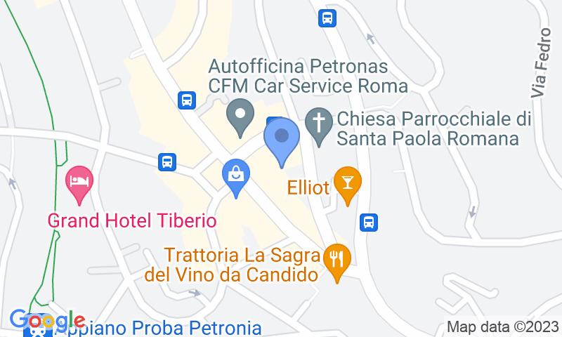 Localizzazione del parcheggio sulla mappa - Prenota un posto nel parcheggio Angelico Parking II
