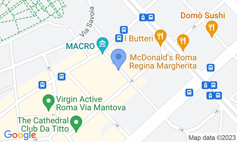 Localización del parking en el mapa - Reservar una plaza en el parking Mondial Macro