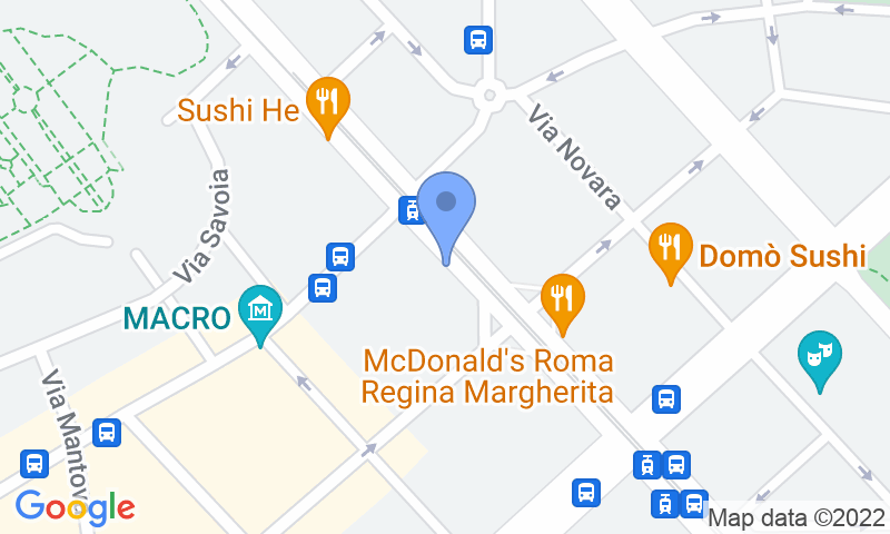 Localizzazione del parcheggio sulla mappa - Prenota un posto nel parcheggio MuoviAmo Parioli