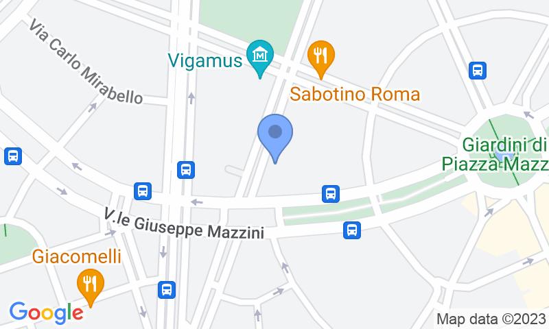 Lugar de estacionamento no mapa - Reserve uma vaga de  estacionamento no Garage Mazzini