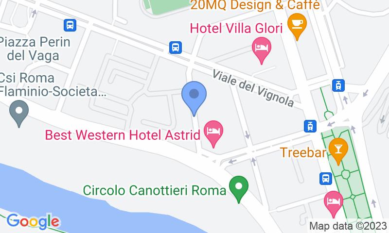 Localizzazione del parcheggio sulla mappa - Prenota un posto nel parcheggio Service e Parking