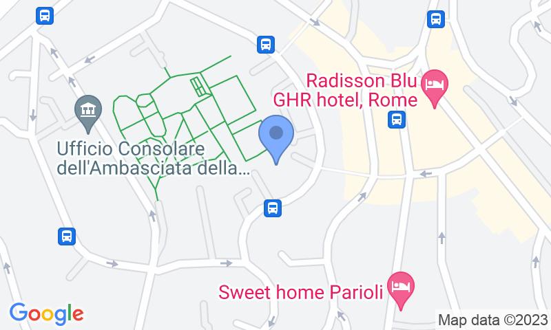 Localizzazione del parcheggio sulla mappa - Prenota un posto nel parcheggio Parioli