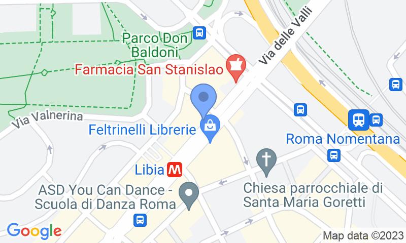 Localizzazione del parcheggio sulla mappa - Prenota un posto nel parcheggio MuoviAmo Libia