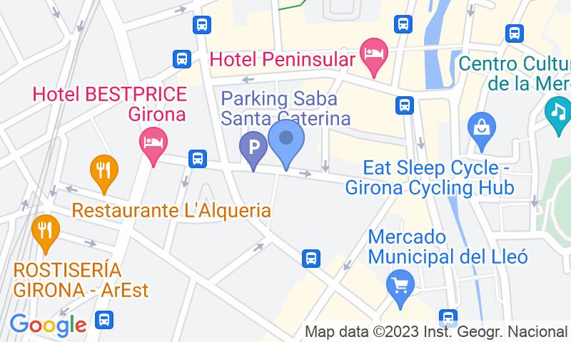 Lugar de estacionamento no mapa - Reserve uma vaga de  estacionamento no SABA Santa Caterina