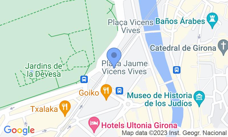 Localizzazione del parcheggio sulla mappa - Prenota un posto nel parcheggio SABA Plaça Berenguer i Carnicer