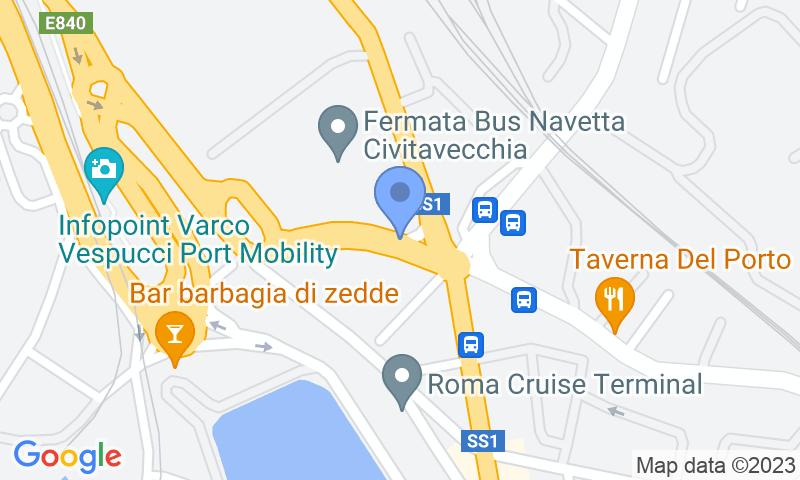 Localització del parking al mapa - Reservar una plaça al parking LogiPort Isonzo - Valet Scoperto