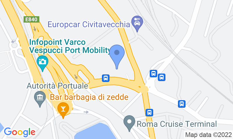 Parking location in the map - Book a parking spot in LogiPort d'Ossat - Valet Coperto car park